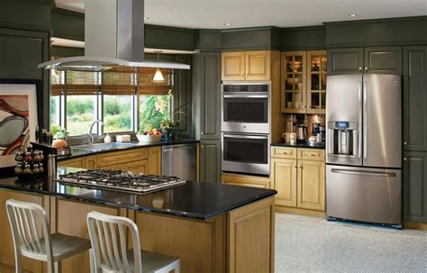 kitchen cabinets with stainless steel appliances 25 kitchens with stainless steel appliances 9184