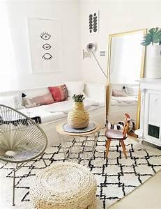 Boho Style Wohnen : mainstream boho wohnzimmer der chic wohnstil wikhouse ~ Kayakingforconservation.com Haus und Dekorationen