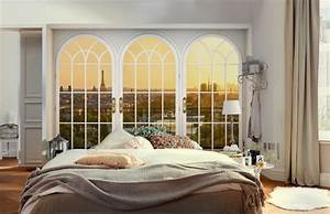Fototapete Fenster Aussicht : fototapete mit aussicht modern schlafzimmer berlin ~ Michelbontemps.com Haus und Dekorationen