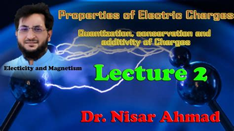 Properties of electric charges// Quantization, conservation and additivity of Charges - YouTube