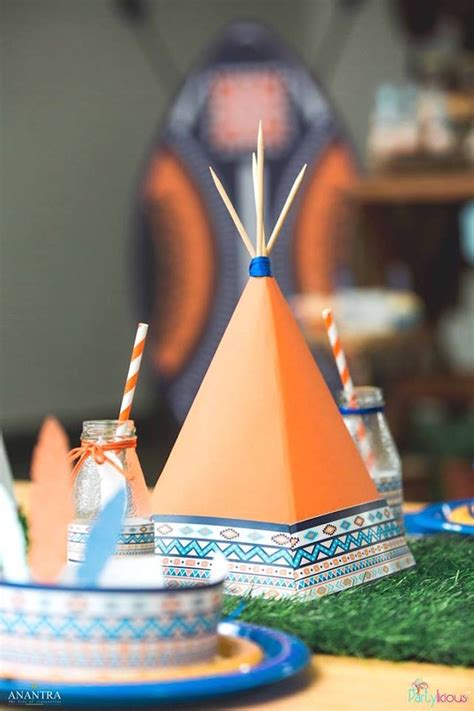 karas party ideas tribal wild  st birthday party