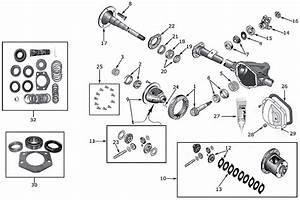 Diagram Axles Jeep Tj Wrangler 1996  2006