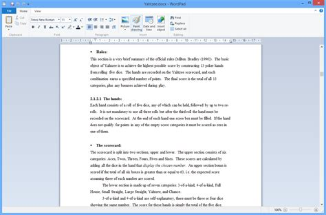 How To Make A Resume Using Wordpad by Free Resume Template Wordpad
