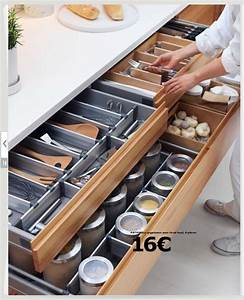 Amenagement Tiroir Cuisine Ikea : pingl par karine th berge c t sur design de cuisine rangement cuisine amenagement tiroir ~ Carolinahurricanesstore.com Idées de Décoration