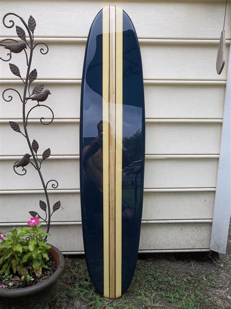 Decorative Surfboard Wall by Surfboard Wall Hanging Surfboard Wall 4 Foot Navy Blue