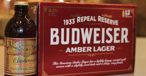Budweiser Launches Beer Made From Pre-prohibition Period