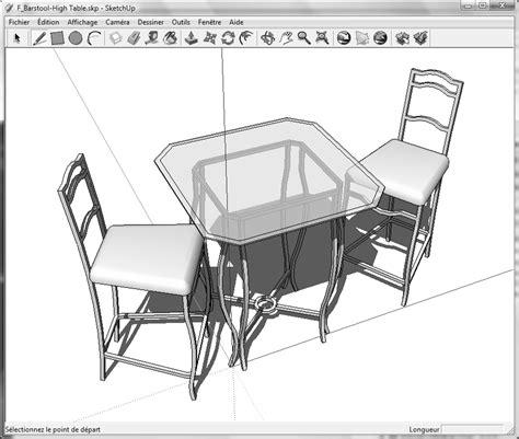 dessiner en 3d avec sketchup