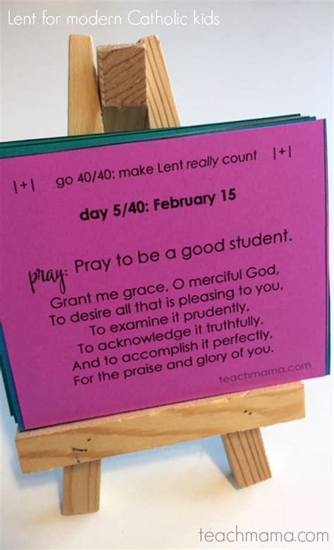lent  modern catholic kids daily reflections