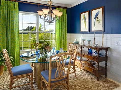 25+ Blue Dining Room Designs, Decorating Ideas  Design