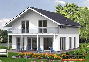 Fertighaus Schlüsselfertig Inkl Bodenplatte : haus lichthaus mit grossem balkon hausanbieter dominic lang hauskonzepte bei hausbau24 ~ Indierocktalk.com Haus und Dekorationen