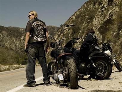 Anarchy Sons Motorcycle Satisfying Conclusion Stage Sets