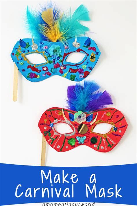 carnival masks template kids 25 best ideas about carnival crafts kids on pinterest