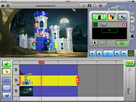 stop motion animation software sound effects green screen