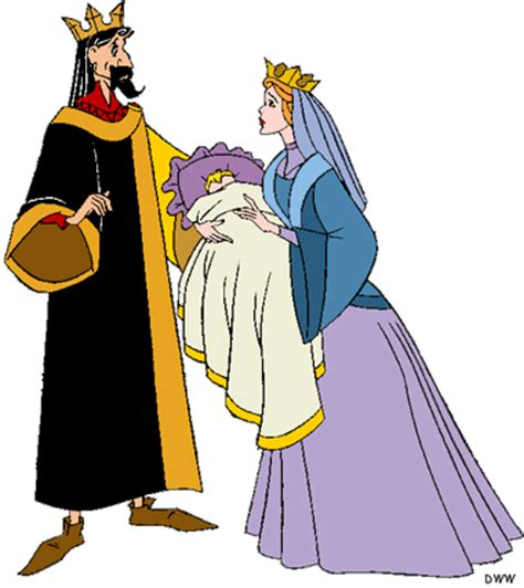 sleeping beautys kings  queen clip art disney clip