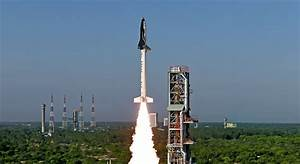 The Images From India's First Ever Space Shuttle Launch ...