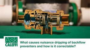 What Causes Nuisance Dripping Of Backflow Preventers And