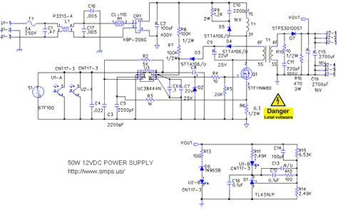 Smps Volt Circuit Diagrams Diagram Images