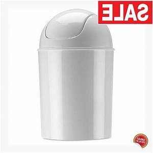 Small, Trash, Can, With, Lid, Bathroom, Kitchen, Bedroom
