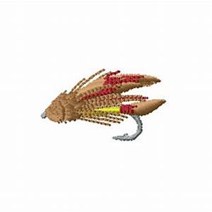 Internet Stitch Embroidery Design: Fly Fishing 1.01 inches ...