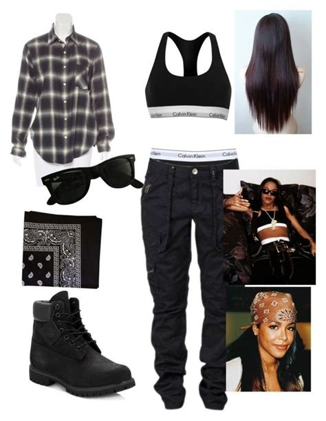 Aaliyah 90s inspired outfit   my closet.   Pinterest   90s inspired outfits Timberland and ...