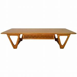 mid century modern lane perception coffee table for sale With mid mod coffee table