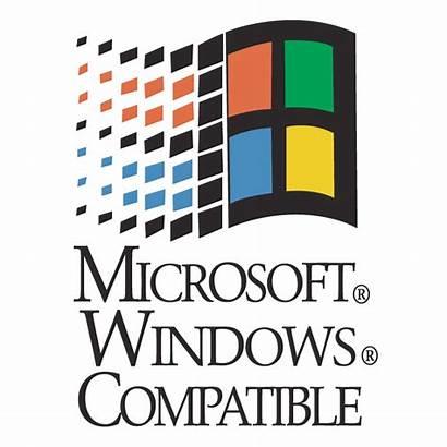 Microsoft Windows Clip Compatible Vector Clipart Ms