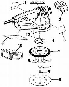 Craftsman Orbit Sander Parts