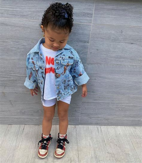 How cute is little stormi in her puffer coat? Stormi Webster's Most Fashionable, Adorable Outfits
