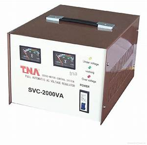 Servo Motor Type Voltage Stabilizer - Svc