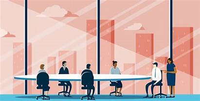 Banner Corporate Takeaways Proxy Key Meeting Animation