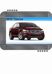 Ford Taurus 2010 Factory Service  U0026 Shop Manual