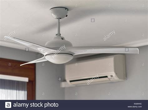 ceiling fan with air conditioner ventilation fan stock photos ventilation fan stock