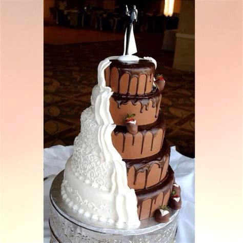 tipps diese torte zu backen mit bild schmuck hochzeit