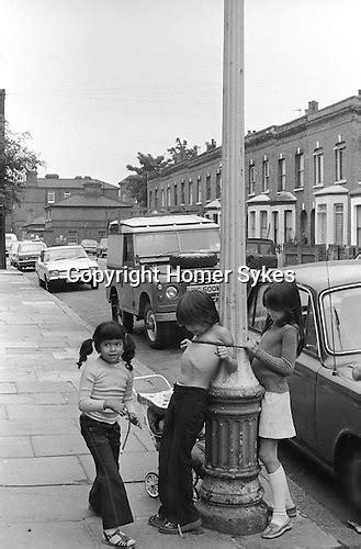 british working class society children playing rough