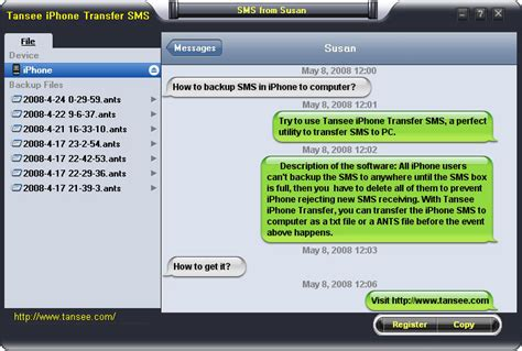 backup text messages iphone how to backup iphone 4 sms text messages