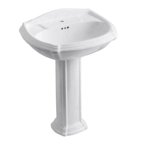 Pedestal Sink Wrench Home Depot by Pedestal Sinks Bathroom Sinks The Home Depot