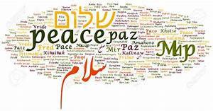 "PAX TECUM: Say ""Peace"" in different languages"