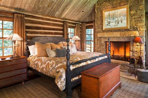 Rustic Bedrooms : 18 Cozy Cabin Bedroom Design Ideas