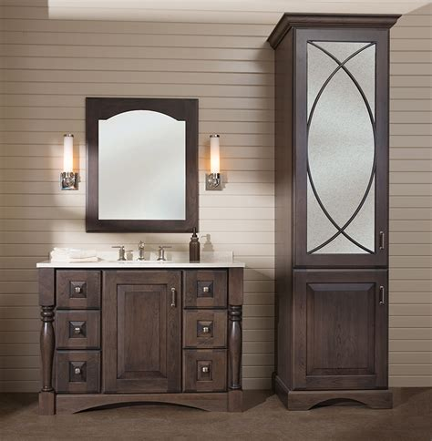 bathroom vanities  matching linen cabinets