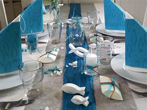 Tischdeko Blau Weiß : tischdeko kommunion konfirmation petrol blau grau wei fisch set 20 personen kommunion ~ Markanthonyermac.com Haus und Dekorationen