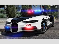 Bugatti Chiron Hot Pursuit Police [AddOn Replace