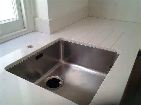 compac carrara quartz worktops with an undermount sink
