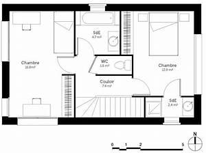 plan maison 90 m2 avec veranda ooreka With ordinary maison de la fenetre 7 plan de maison en u avec terrasse ooreka