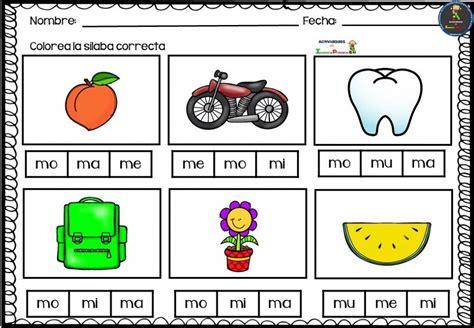 juegos de silabas ma me mi mo mu buscar con escritura y lectura fichas silabas madreview net