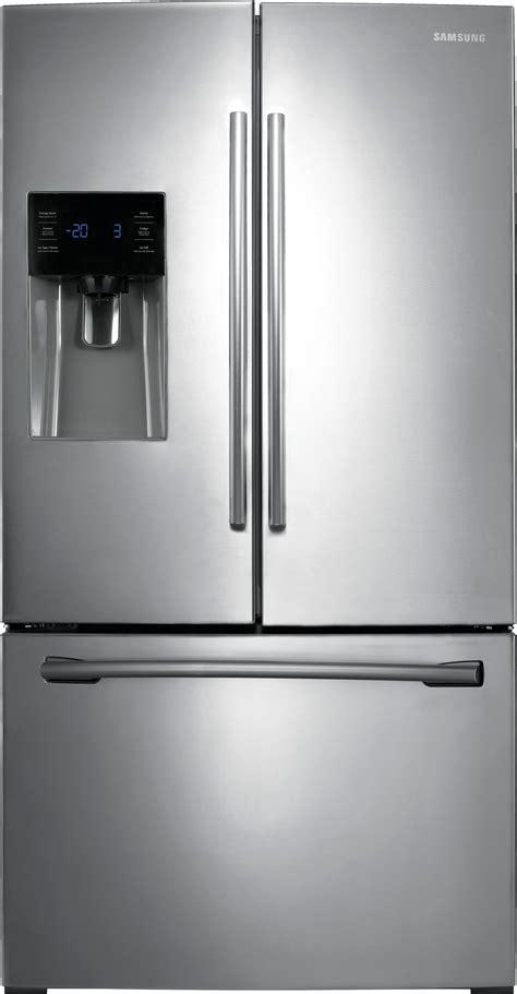 samsung door fridge samsung 24 6 cu ft door refrigerator with thru