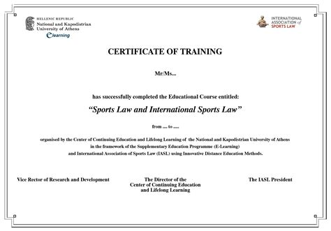 certificate courses certificate of iasl e learning of