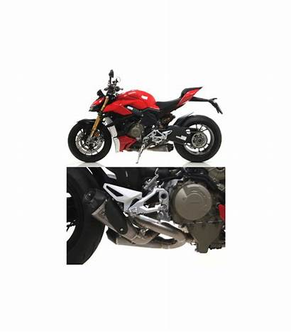 V4 Ducati Streetfighter Arrow Silencieux Racing