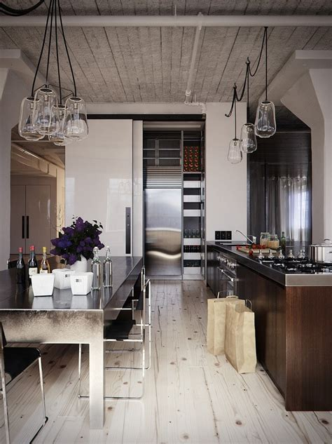 modern industrial kitchen   awesome