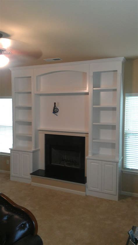 Fireplace With Bookcase Surround by 23 Best Fireplace Bookcases Images On Mantles