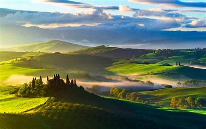 Tuscany Fields Italy Background Resolution Published June